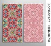 vertical seamless patterns set  ...   Shutterstock .eps vector #1062046004