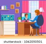 recruitment hiring hunting hr... | Shutterstock .eps vector #1062050501