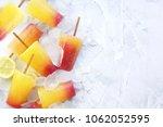 sweet refreshing summer food... | Shutterstock . vector #1062052595