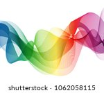 abstract colorful   rainbow... | Shutterstock .eps vector #1062058115