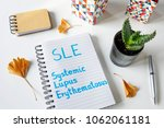 sle systemic lupus... | Shutterstock . vector #1062061181