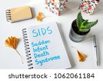 sids sudden infant death... | Shutterstock . vector #1062061184
