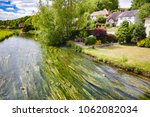 english summer landscape with... | Shutterstock . vector #1062082034