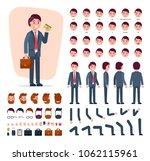 businessman constructor vector... | Shutterstock .eps vector #1062115961