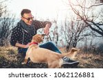 men wearing sunglasses and... | Shutterstock . vector #1062126881