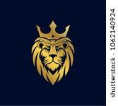 lion king logo template | Shutterstock .eps vector #1062140924