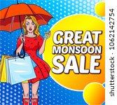 creative sale banner or sale... | Shutterstock .eps vector #1062142754