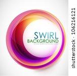 Glamorous Swirl Background