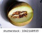 galia melon  sarda in india and ... | Shutterstock . vector #1062168935