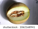 galia melon  sarda in india and ... | Shutterstock . vector #1062168941