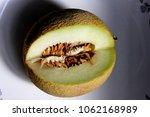 galia melon  sarda in india and ... | Shutterstock . vector #1062168989