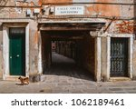 venice  italy   march 28  2018  ... | Shutterstock . vector #1062189461