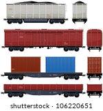 Goods Van   Train  6  Pixel...