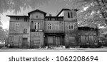 abandoned   deceased old wooden ... | Shutterstock . vector #1062208694