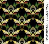 baroque embroidery vector 3d...   Shutterstock .eps vector #1062217937
