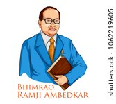 illustration of dr bhimrao... | Shutterstock .eps vector #1062219605