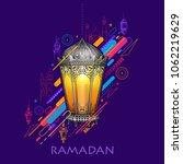 Illustration Of Ramadan Kareem...