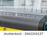 macro shooting of cotton thread ... | Shutterstock . vector #1062243137