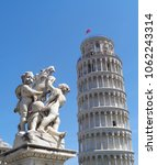 italy  pisa   the leaning tower ... | Shutterstock . vector #1062243314