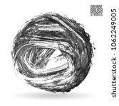 grey  brush stroke and texture. ... | Shutterstock .eps vector #1062249005