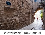 streets and architecture of... | Shutterstock . vector #1062258401