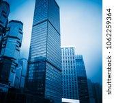 china hong kong modern... | Shutterstock . vector #1062259364