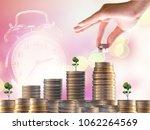 interest investment ideas ...   Shutterstock . vector #1062264569