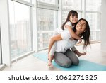 portrait of gorgeous family... | Shutterstock . vector #1062271325