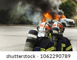 french firefighter binomial... | Shutterstock . vector #1062290789