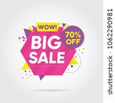 big sale banners labels and... | Shutterstock .eps vector #1062290981