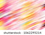 colorful sloping blurred... | Shutterstock . vector #1062295214