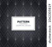 seamless geometric pattern.... | Shutterstock .eps vector #1062305819