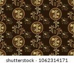 beautiful japanese seamless ... | Shutterstock .eps vector #1062314171
