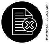false file icon. vector...   Shutterstock .eps vector #1062314384