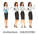 woman in business style.... | Shutterstock .eps vector #1062315584