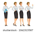 woman in business style.... | Shutterstock .eps vector #1062315587