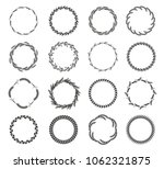 collection of different black... | Shutterstock .eps vector #1062321875