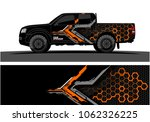 truck graphic. abstract modern... | Shutterstock .eps vector #1062326225