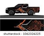 truck graphic. abstract modern... | Shutterstock .eps vector #1062326225