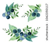 watercolor composition of...   Shutterstock . vector #1062350117