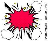 retro comic design speech... | Shutterstock .eps vector #1062358241