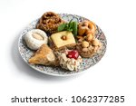 typical moroccan sweets with...   Shutterstock . vector #1062377285