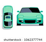 flat style cars in different... | Shutterstock . vector #1062377744