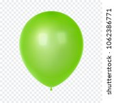 3d realistic colorful balloon.... | Shutterstock .eps vector #1062386771