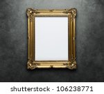 Ornate Golden Frame At The...