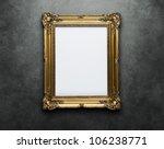 Ornate Golden Frame At The...