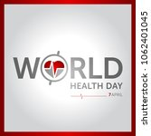 7 april world health day... | Shutterstock .eps vector #1062401045