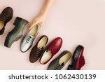stylish female spring or autumn ...   Shutterstock . vector #1062430139