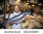 February 2005   Fish Seller At...