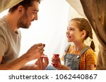 family  hygge and people... | Shutterstock . vector #1062440867